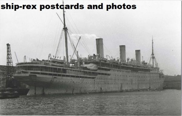 EMPRESS OF AUSTRALIA (1922c, Canadian Pacific) photo (b)